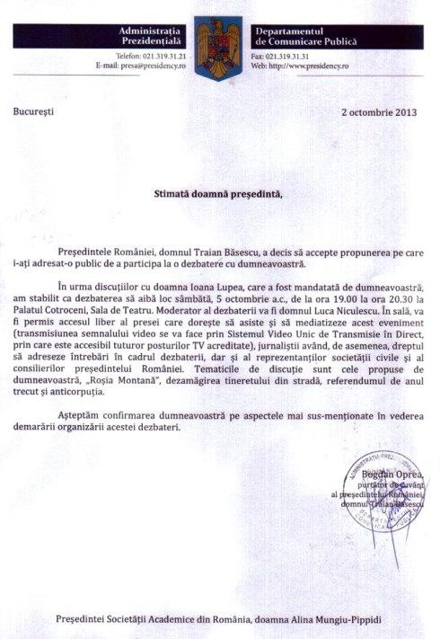 Băsescu-Mungiu-scrisoare