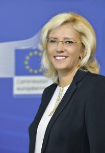 Comisarul European pentru Politici Regionale Corina Cretu