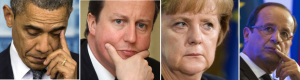 Obama-Cameron-Merkel-Hollande