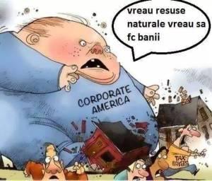 Marile corporaţii americane, principala sursă a răului şi a corupţiei în întreaga lume
