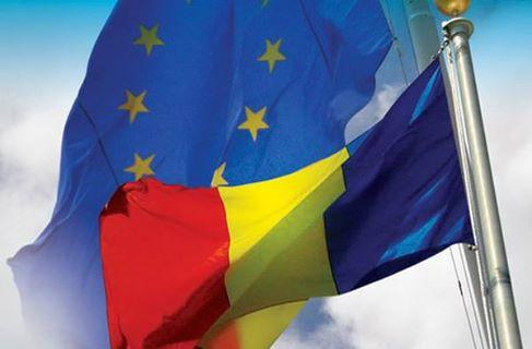 EU Romanian flag