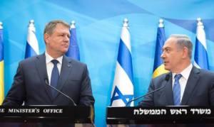 Klaus Iohannis Netanyahu