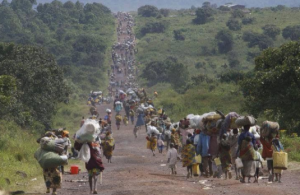 Photo credit ends.ng 11,000 refugees and all 200 churches burned