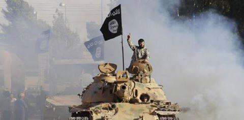 ISIS tanc armata