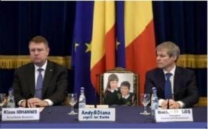 Iohannis, Ciolos si Andy & Diana Barbu