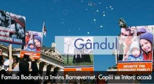Familia Bodnariu Gandul Barnevernet