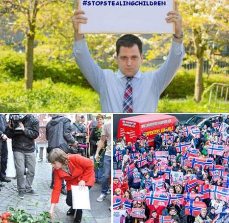 Tomas Zdechovsky Protest OSLO, NORWAY
