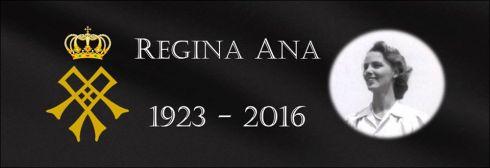 Regina Ana simbol doliu