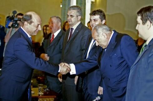 Basescu se comporta ca Voiculescu in fata Justitiei