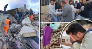 Cutremur in Italia august 2016 FOTO
