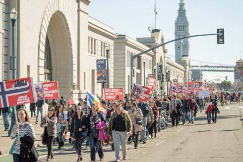 San Francisco Protest Photo Copyright Levy Moroshan