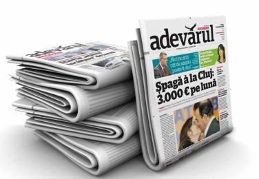 ziar-adevarul FOTO Pagina de media