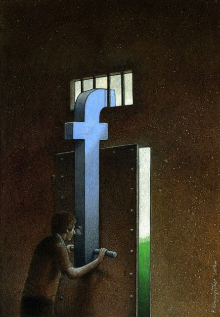 Facebook Photo credit Illustration by Pawel Kuczynski