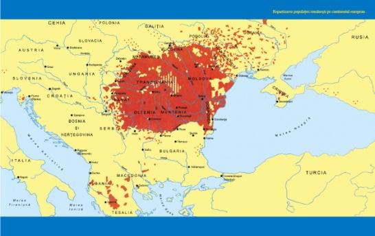 Imagini pentru harta raspandirii românilor photos