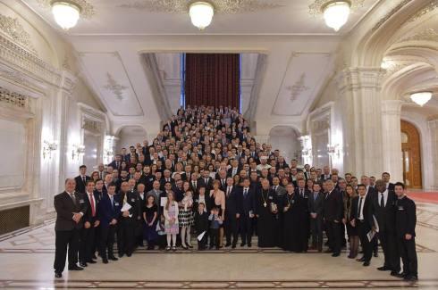 Florica Chereches - S-a încheiat a 12-a ediție a Micului Dejun cu rugăciune al Parlamentului României