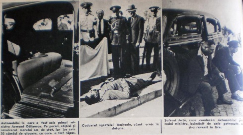 asasinare armand calinescu crime scene