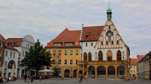 Rathaus, Amberg, Bavaria, Germany