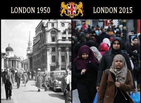 London-then-and-now