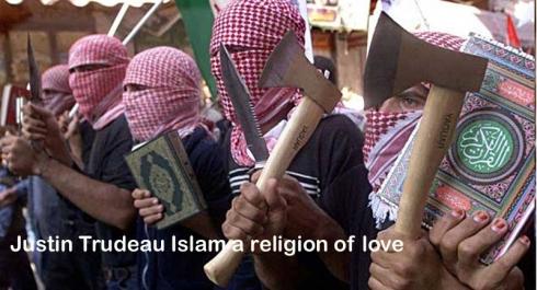 justin trudeau islam a religion of love
