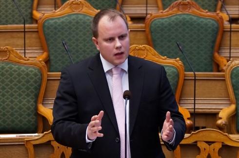 """Martin Henriksen - Danish Parliament """"Folketinget"""" - photo: Mogens Engelund"""