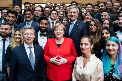 Deutschlandstiftung Integration feiert 70 Jahre Grundgesetz