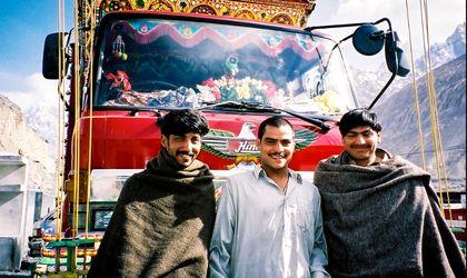 Pakistani-truck-drivers