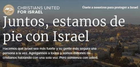 Homepage Cristianos Unidos por Israel