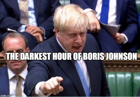 Boris The darkest hour MEME