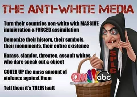 Anti White media