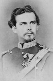Portrait of Louis II, King of Bavaria